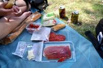 piknik v parku Retiro