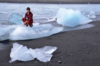 ledové kry v moři