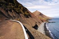výhledy po cestě - jihovýchod Islandu