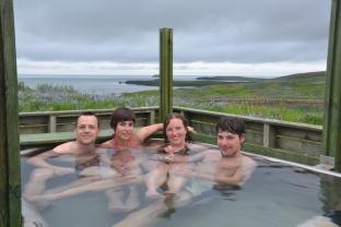termální bazének v Húsavíku